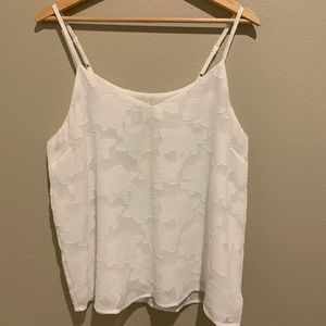 Mystree white floral cami.
